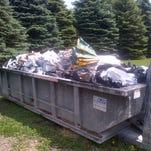 Ag plastic is a common sight across Central Minnesota farms.