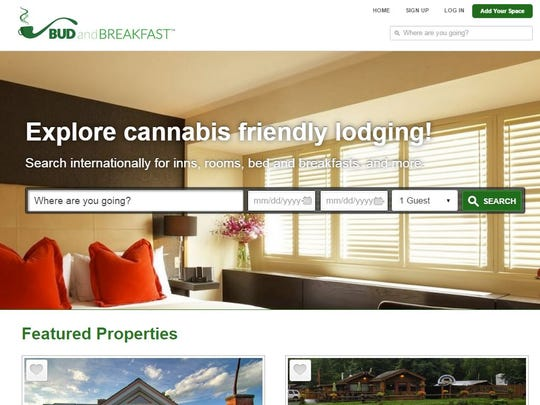 The new web-based booking service Bud and Breakfast