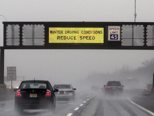 A winter storm packing snow, ice and rain is expected to affect New Jersey on Wednesday.