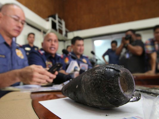 AP PHILIPPINES SUSPECTED BOMB I PHL