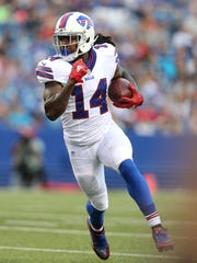 Sammy Watkins made only 28 catches last season for