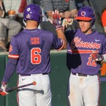 Clemson routs Elon to claim series