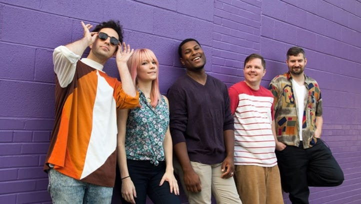 New-wave pop quintet Two Cheers is a recent addition