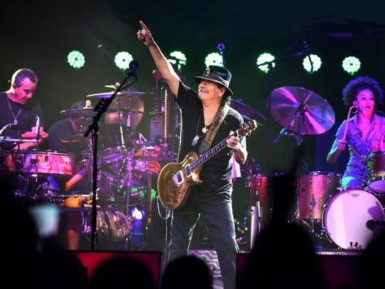 Carlos Santana is set to perform at Soaring Eagle Casino