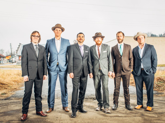 The Steep Canyon Rangers play a free show in Pack Square Park on June 11.