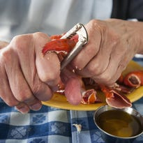 The Thursday evening lobster buffet at the Basin Harbor Club in Vergennes on June 25.