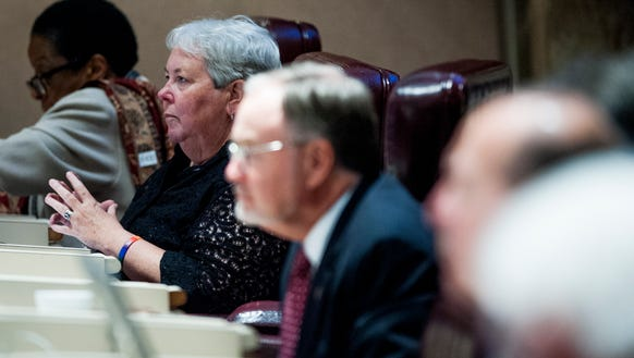 Rep. Patricia Todd during the Special Session of the