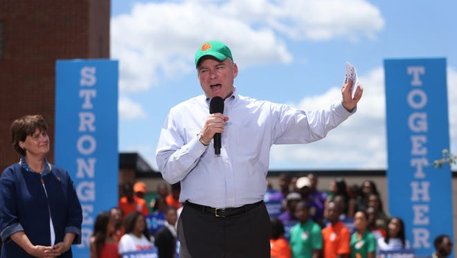 It will be Anne Holton's second stop in Tallahassee. Earlier this year, she and Tim Kaine urged students at FAMU to register to vote.