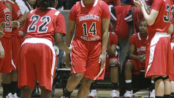 Ameryst Alston won two Ohio Ms. Basketball awards as the state's top player during her McKinley career.
