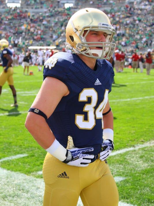 NCAA Football: Oklahoma at Notre Dame