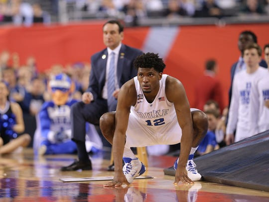 Justise Winslow's stock is high after helping Duke to the national title.