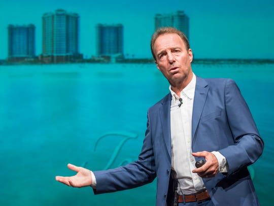 Real estate developer Robert Rinke talks about the