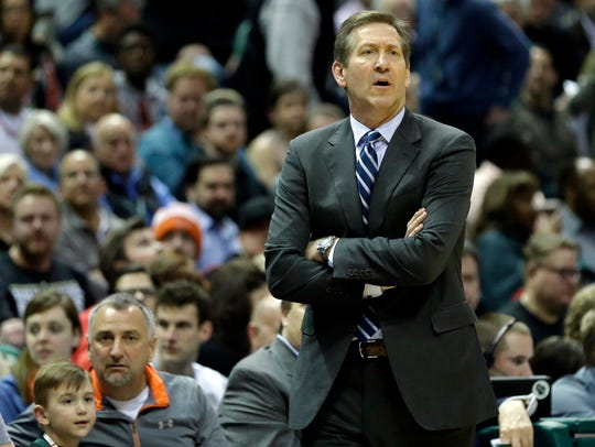 New York Knicks head coach Jeff Hornacek has a lot