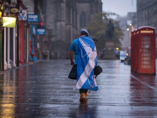 APTOPIX Britain Scotland