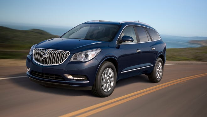 Sales of some 2015 Buick Enclaves and other large GM crossovers are