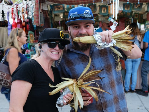 Hungry festival-goers enjoy ribs and more at the Best