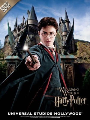 """""""The Wizarding World of Harry Potter"""" at Universal Studios Hollywood."""