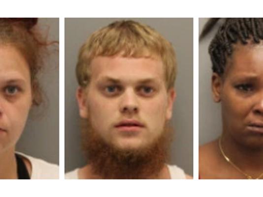Five arrested for trafficking