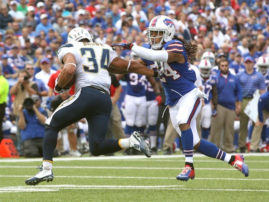 In Rex Ryan's defense, cornerback Stephon Gilmore has to be stout in man-to-man coverage.