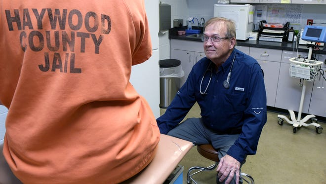 Donald Willie is a nurse practitioner at the Haywood County jail in Brownsville, Tenn. He worked in the same role at West Tennessee State Penitentiary for 14 years, but left because he thought prison health officials put costs above quality of care.