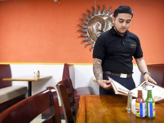 Said Saldana is the manager of the Salsa's Mexican Grille location in Annville at 344 E. Main St. Saldana and his father, Armando have two other locations for their Mexican eatery, in Phillipsburg and Columbia. The restaurant quietly opened last week.