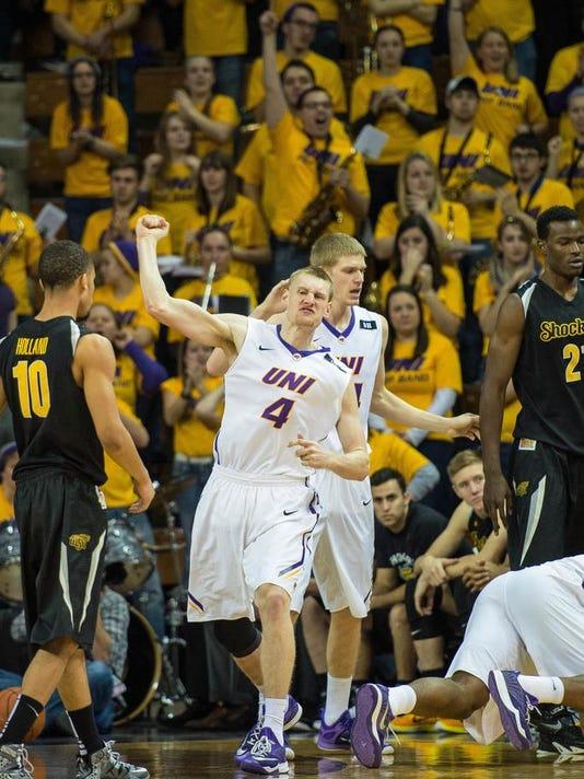 NCAA Basketball: Wichita State at Northern Iowa