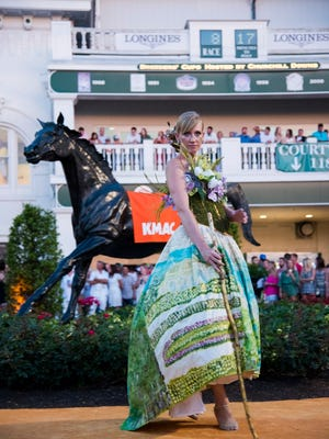 KMAC introduced their first public showing of the 2016 Couture Collection at the Downs After Dark event at Churchill Downs on Saturday, June 18.