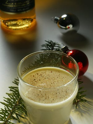 Eggnog is a holiday mainstay.