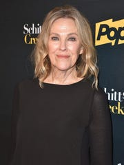 "Actor Catherine O'Hara attends the premiere ""Schitt's Creek"" season 4 at ArcLight Hollywood on January 16, 2018 in Hollywood, California."
