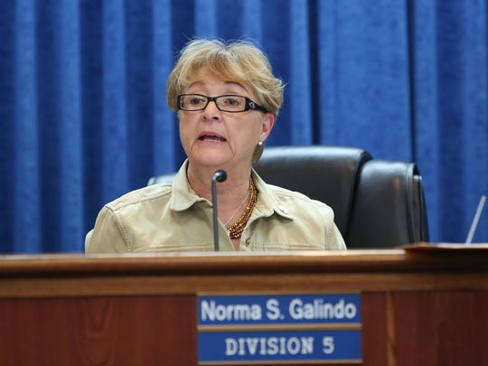 Imperial Irrigation District board member Norma Sierra