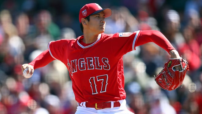 Japanese sensation Shohei Ohtani will be part of the Angels' six-man rotation and will get a chance to bat as a designated hitter during some games between starts.