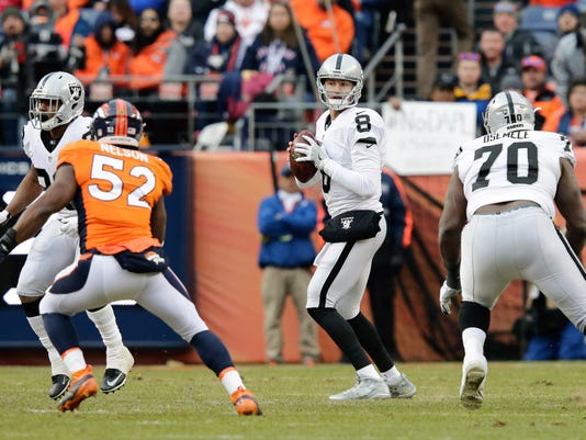 NFL: Oakland Raiders at Denver Broncos