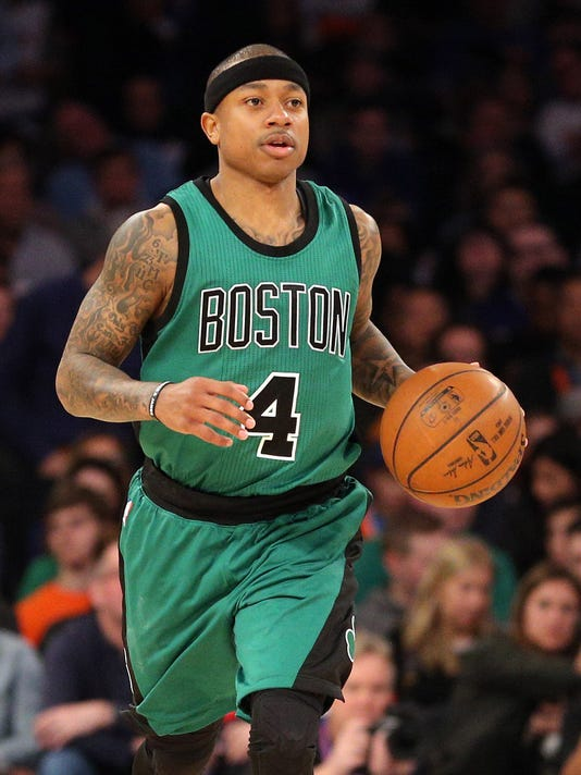 USP NBA: BOSTON CELTICS AT NEW YORK KNICKS S BKN NYK BOS USA NY