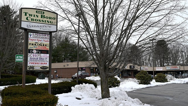 A marijuana dispensary has been proposed for Twin Boro Crossing at 505 Boston Post Road in Marlborough.