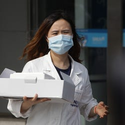A hospital worker wearing mask near a quarantine tent for people who could be infected with the MERS virus at Seoul National University Hospital on June 2, 2015 in Seoul, South Korea. The Ministry of Health and Welfare of South Korea confirmed two deaths from Middle East Respiratory Syndrome (MERS) on June 2, 2015. It reported six new cases of MERS, raising the number of confirmed local patients to 25. The first case was confirmed on May 20.