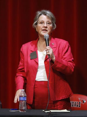 State Superintendent of Public Instruction Diane Douglas has asked Maricopa Country Superior Court to rule that she, in essence, controls the staff of the Arizona State Board of Education.