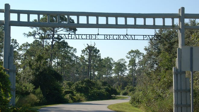 Caloosahatchee Regional Park has bike trails with names like: The Lollipop, Tractor Lane, Wrought O' Ruts, Calcutta Ridge, Mulch Pit, Camel Humps, Light Bulb and Three Bridges.