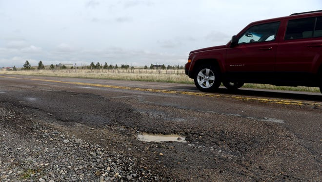 Improvements are planned for 1.2 miles of Fox Farm Road between Alder Drive and E. Fiesta.