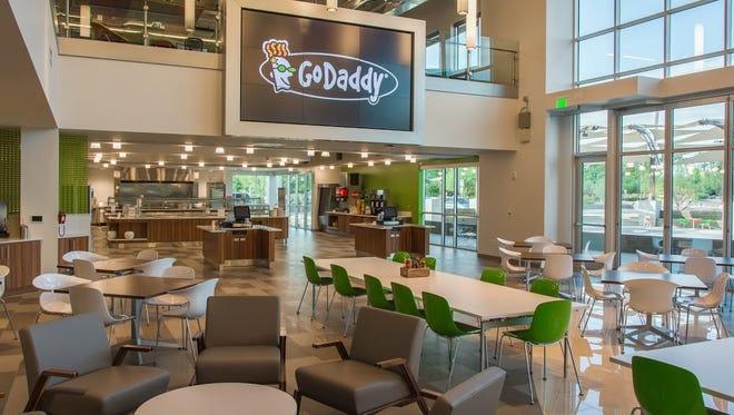GoDaddy Global Technology Center in Tempe.