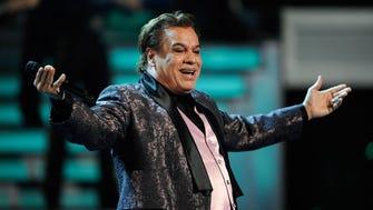 Singer Juan Gabriel, seen on Nov. 10, 2009, died Aug. 28, 2016.