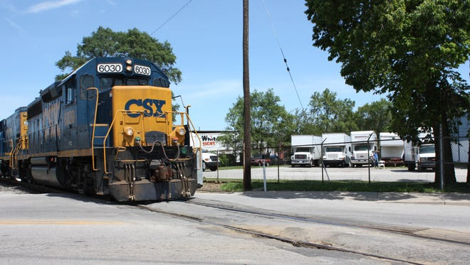 """There will be """"rolling"""" closures of CSX railroad crossings in Henderson County the week of April 25."""