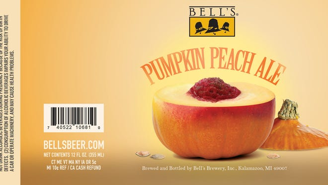 Bell's Brewery will release only 48 bottles of Pumpkin Peach Ale as early as this week. Proceeds will benefit the Kalamazoo River Trail Association.