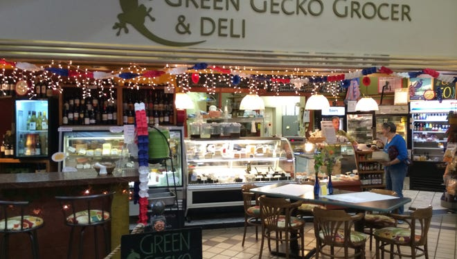Green Gecko Grocer & Deli has its first location in City Center Plaza, in downtown Appleton.