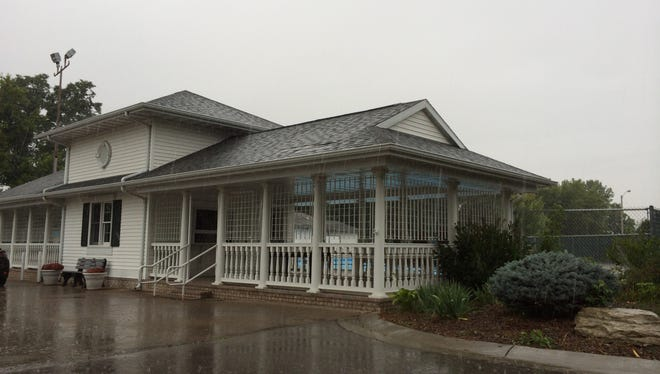 Riverview Gardens will open a small retail shop limited days in the former Riverview Country Club's pool cabana.
