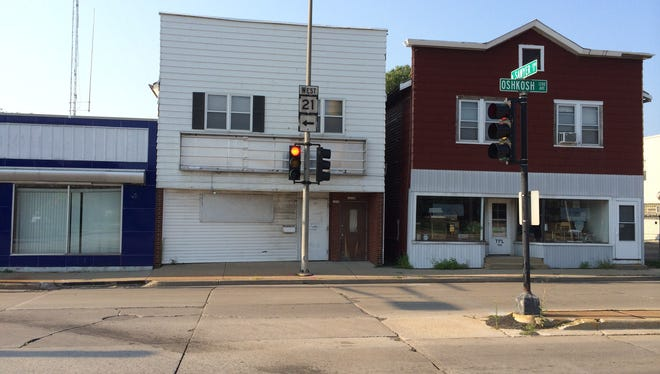 City officials have proposed purchasing a former adult book store at 1212 Oshkosh Ave.