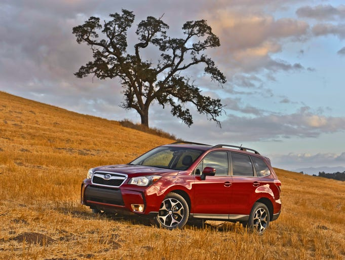 The 2014 Subaru Forester is a fraction of an inch bigger all around then the 2013, belying dramatic improvements in passenger and cargo space. The new one weighs at least 100 pounds more than similar 2013 models.