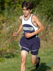Farmington's Matt Dennison finished third overall for