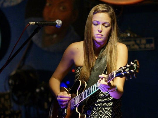 Guitarist and recent FSU grad Heather Gillis joins the musical tribute to the late Col. Hampton on Friday night at The Bradfordville Blues Club.