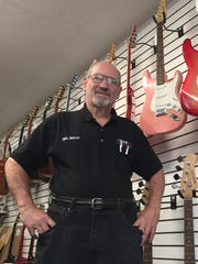 Will White, owner of White Bros. Music in Bath Township.