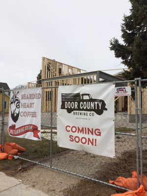 Door County Brewing Company plans to open its new taproom and brewing facility by July 1  in Baileys Harbor.